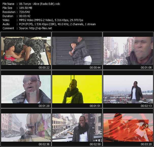 Tonye video screenshot