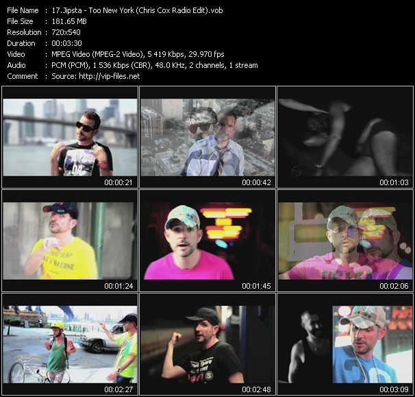 Jipsta video screenshot
