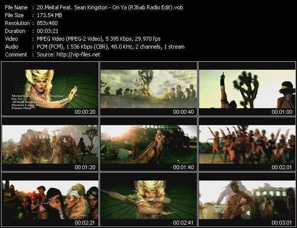 Meital Feat. Sean Kingston video screenshot
