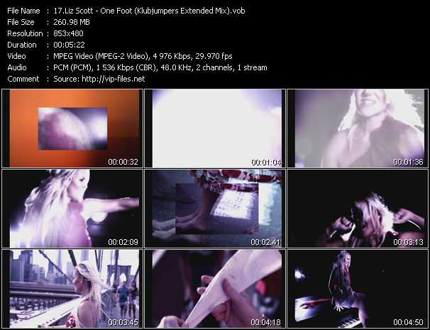 Liz Scott video screenshot