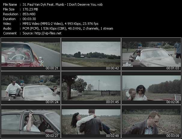 Paul Van Dyk Feat. Plumb video screenshot