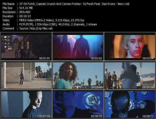 Fytch, Captain Crunch And Carmen Forbes - Dj Fresh Feat. Sian Evans - Nero video screenshot