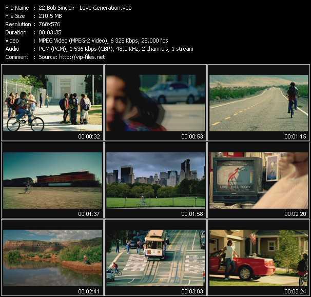 video Love Generation screen