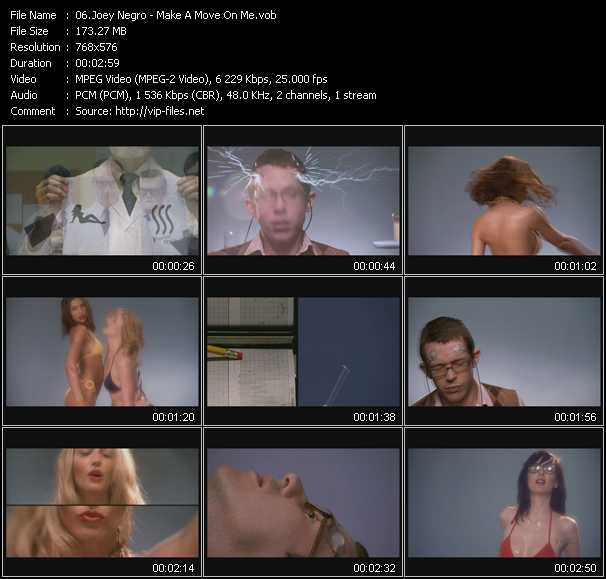 Joey Negro video screenshot