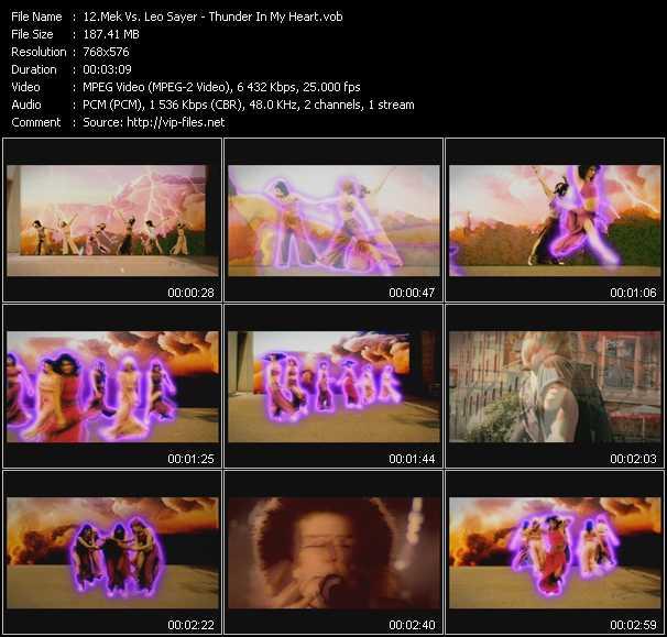 Mek Vs. Leo Sayer video screenshot