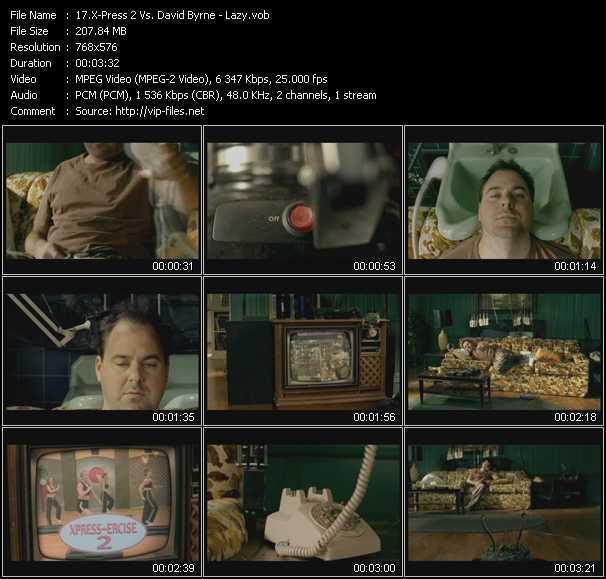 X-Press 2 Vs. David Byrne video screenshot