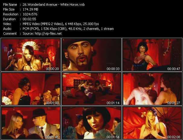 Wonderland Avenue video screenshot