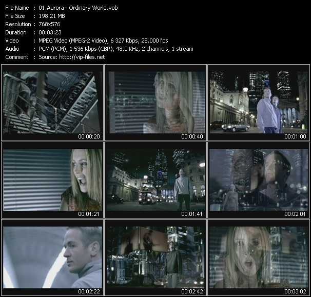 Aurora video screenshot