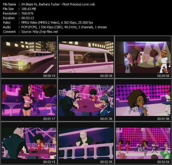Blaze Vs. Barbara Tucker video screenshot