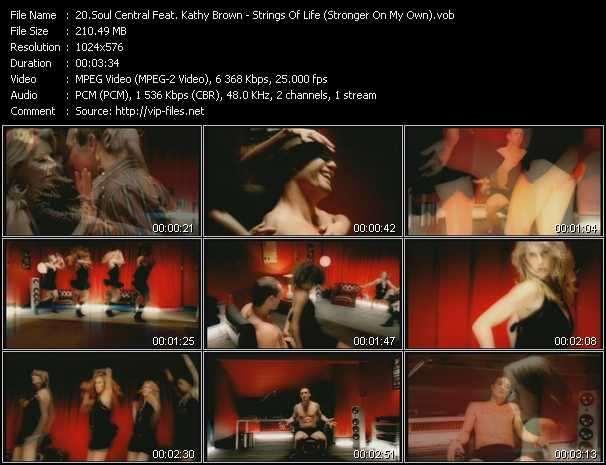 Soul Central Feat. Kathy Brown video screenshot