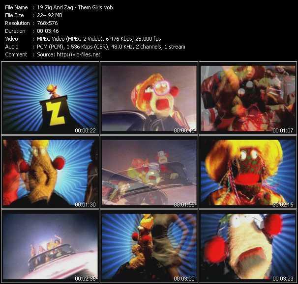 Zig And Zag video screenshot