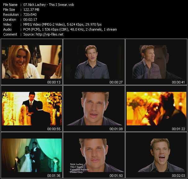 Nick Lachey video screenshot