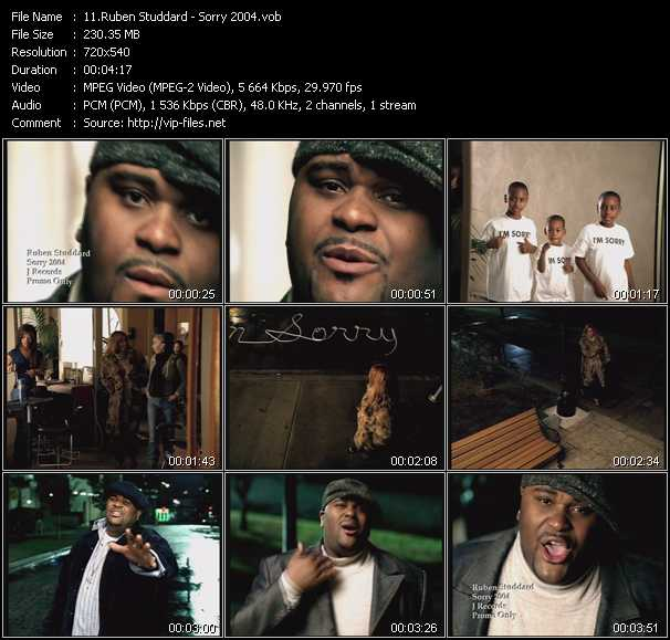 Ruben Studdard video screenshot