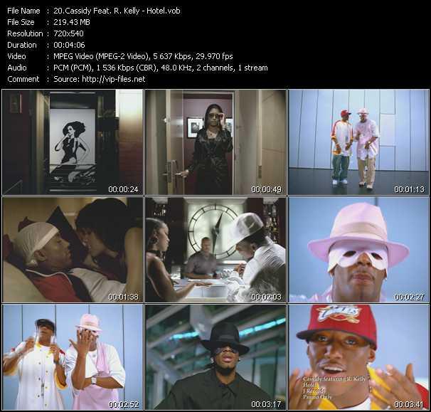 Cassidy Feat. R. Kelly video screenshot