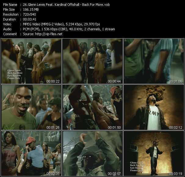 Glenn Lewis Feat. Kardinal Offishall video screenshot