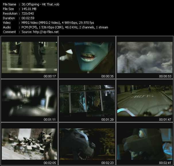 Offspring video screenshot