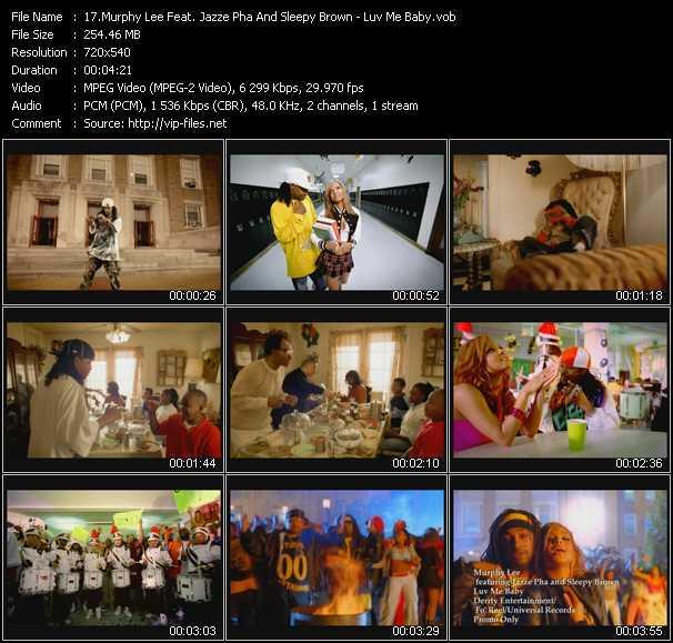 Murphy Lee Feat. Jazze Pha And Sleepy Brown video screenshot