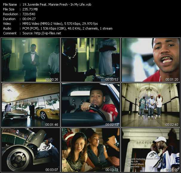 Juvenile Feat. Mannie Fresh video screenshot