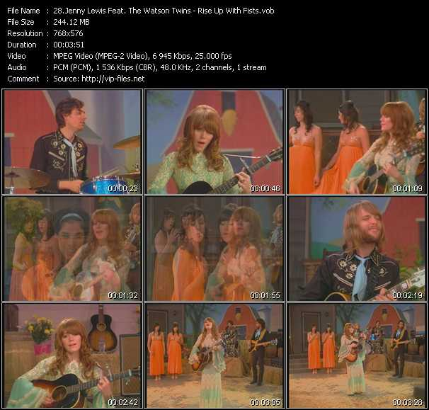 Jenny Lewis Feat. The Watson Twins video screenshot