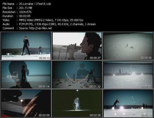 Lorraine video screenshot