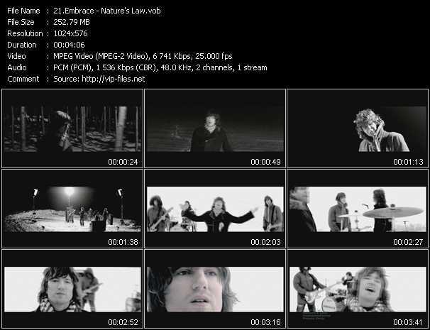 Embrace video screenshot