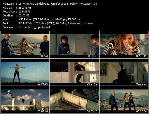 Wisin And Yandel Feat. Jennifer Lopez video screenshot