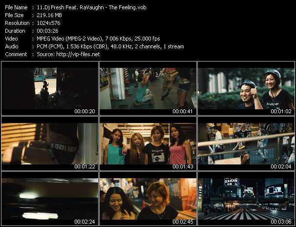 Dj Fresh Feat. RaVaughn video screenshot