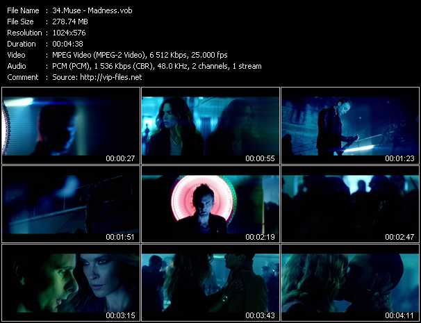 Muse video screenshot