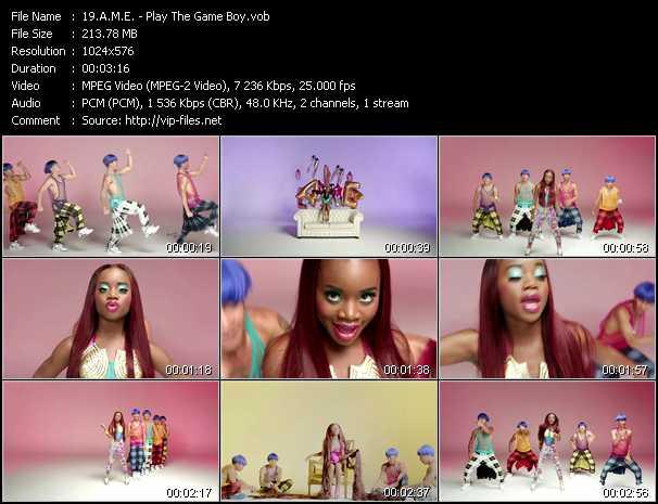 A.M.E. video screenshot