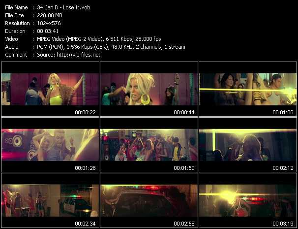 Jen D video screenshot