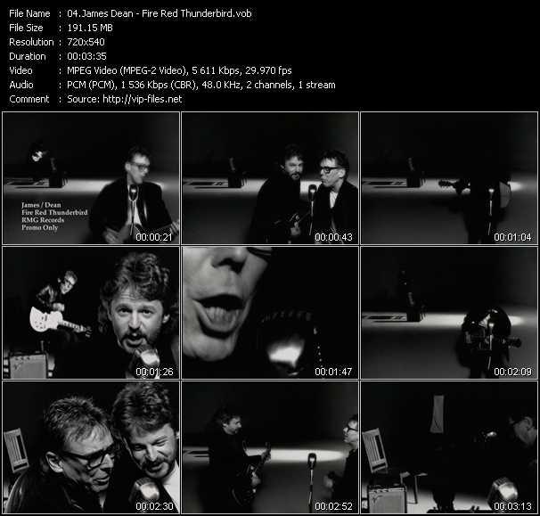 James Dean video screenshot