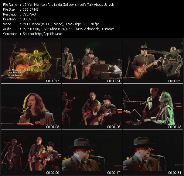 Van Morrison And Linda Gail Lewis video screenshot