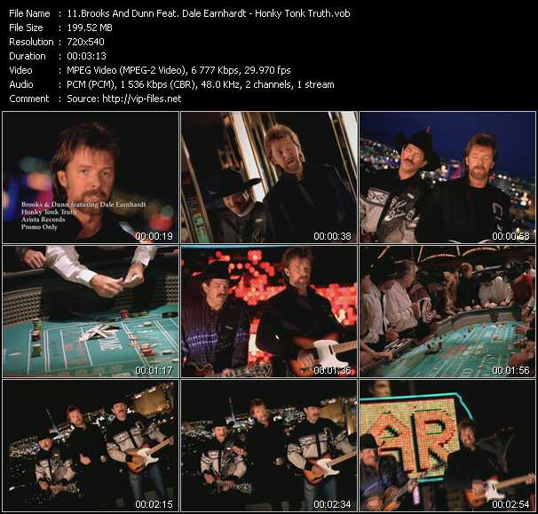 Brooks And Dunn Feat. Dale Earnhardt video screenshot