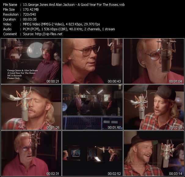 George Jones And Alan Jackson video screenshot