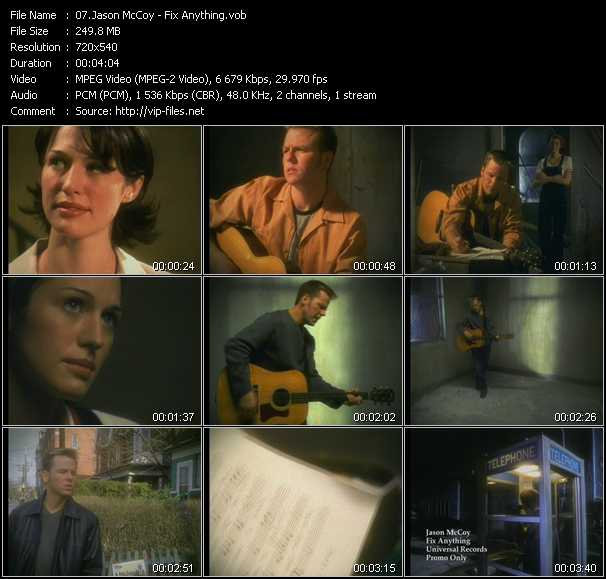 Jason McCoy video screenshot