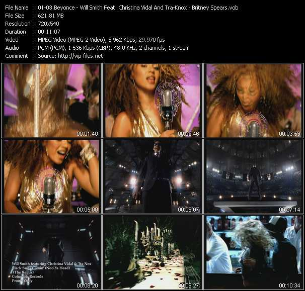 Beyonce - Will Smith Feat. Christina Vidal And Tra-Knox - Britney Spears video screenshot