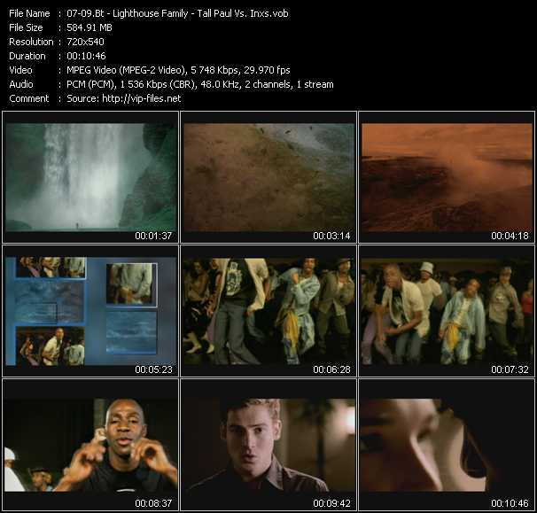 Bt - Lighthouse Family - Tall Paul Vs. Inxs video screenshot