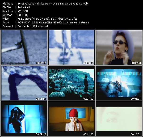 Chicane - Thrillseekers - Dj Sammy And Yanou Feat. Do video screenshot