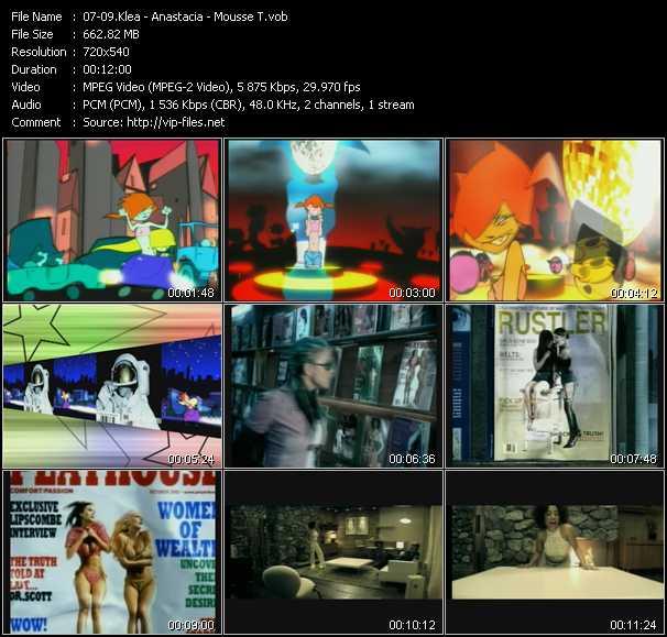 Klea - Anastacia - Mousse T. video screenshot