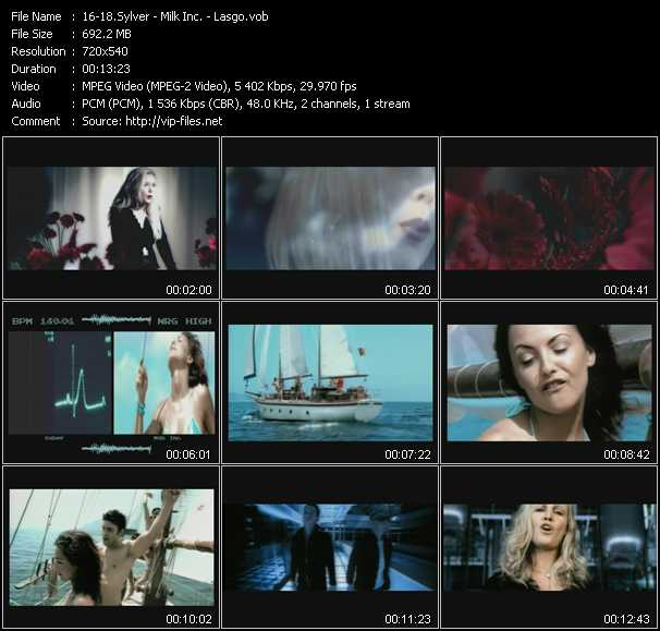 Sylver - Milk Inc. - Lasgo video screenshot