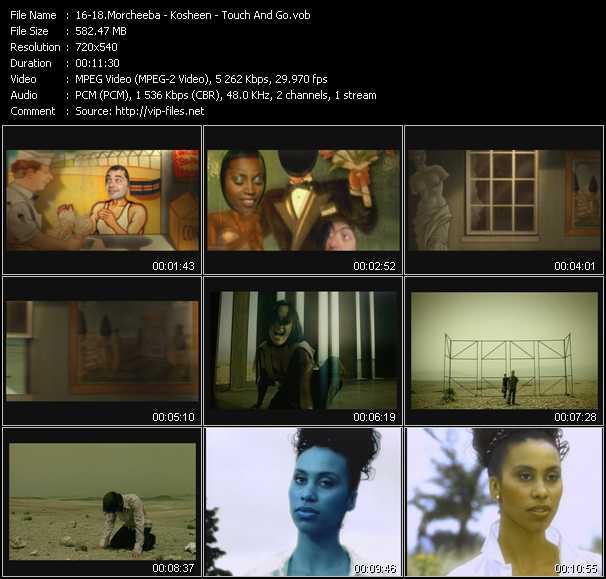 Morcheeba - Kosheen - Touch And Go video screenshot