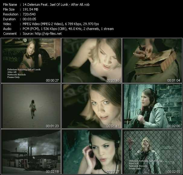 Delerium Feat. Jael Of Lunik video screenshot