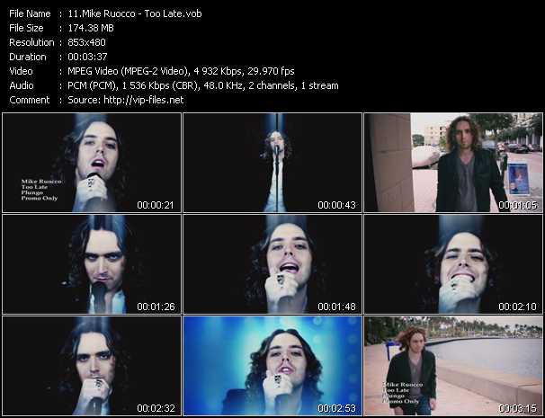 Mike Ruocco video screenshot