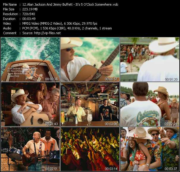 Alan Jackson And Jimmy Buffett video screenshot