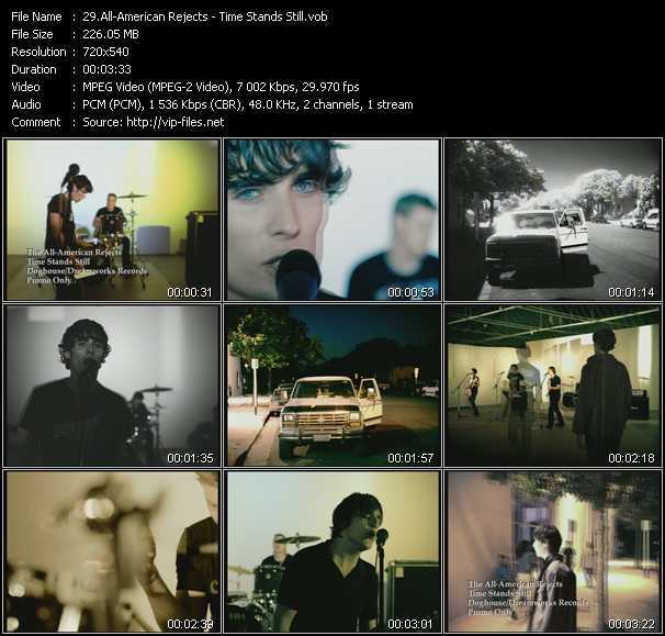 All-American Rejects video screenshot