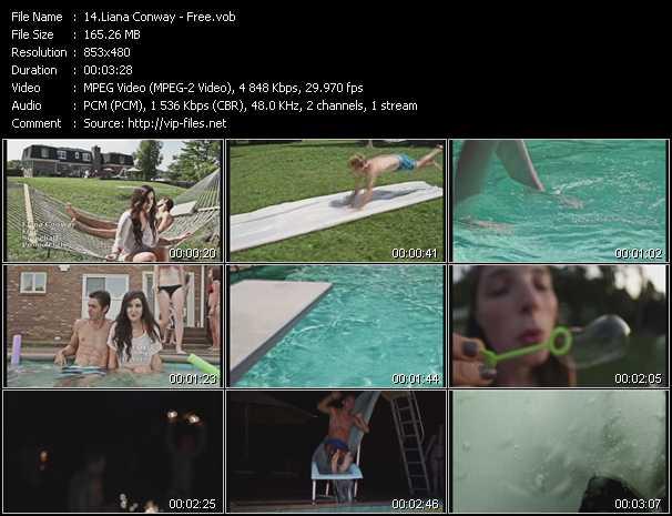 Liana Conway video screenshot