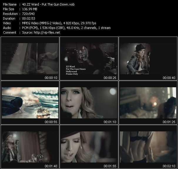ZZ Ward video screenshot