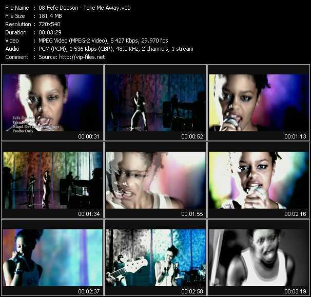 Fefe Dobson video screenshot