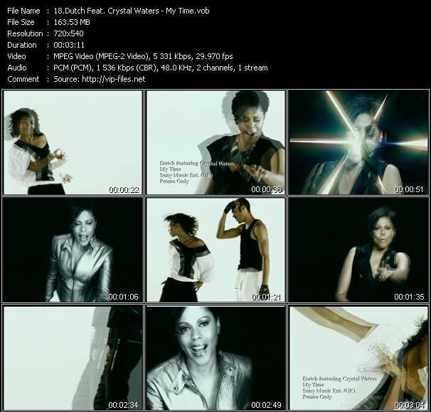 Dutch Feat. Crystal Waters video screenshot
