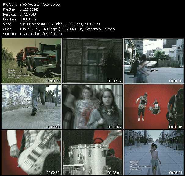Resorte video screenshot